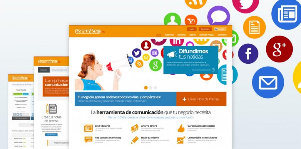 Nueva web de comunicae