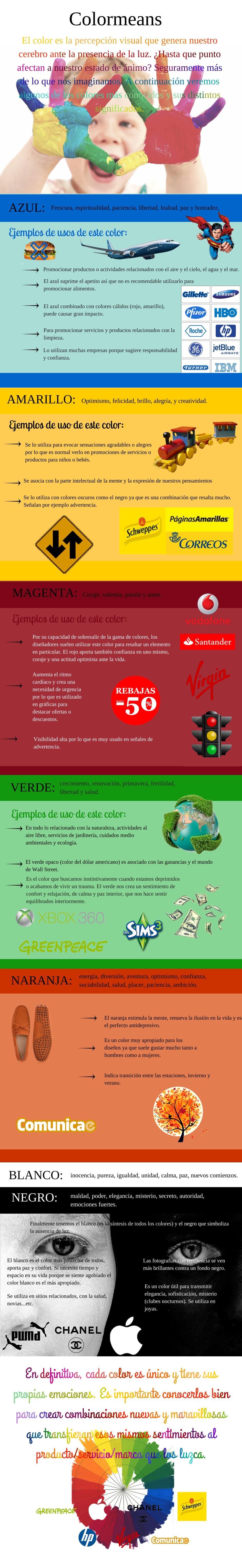 infografia colores