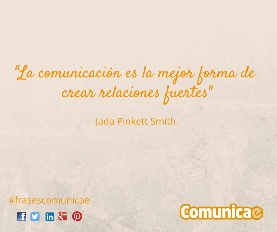 La comunicación es la mejor forma de (3)
