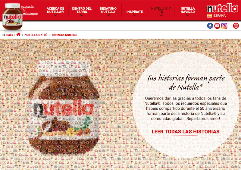Nutella Stories
