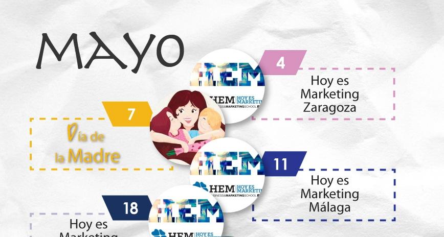 Mayo: El mes de los eventos de marketing