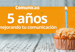 Comunicae quinto aniversario