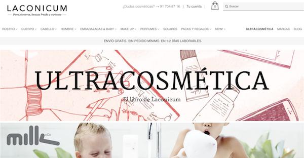 tienda online laconium