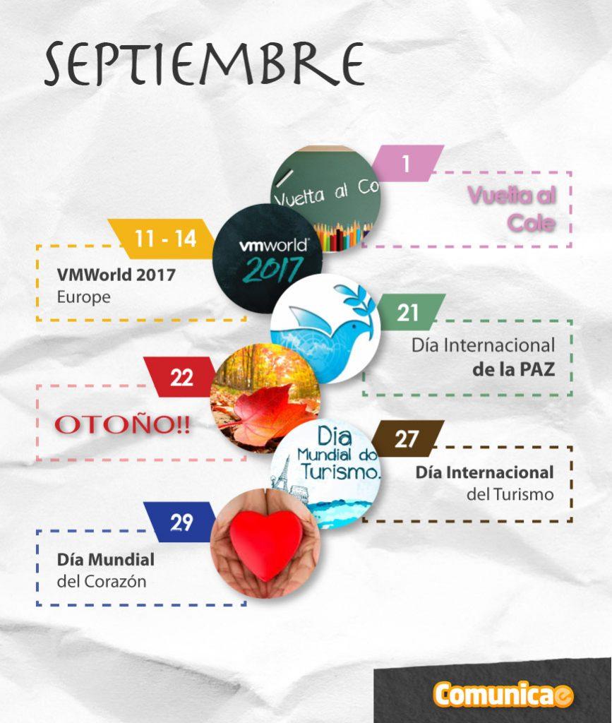 infografía España septiembre