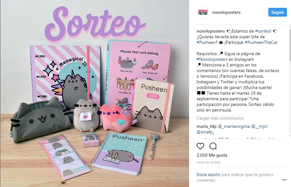 Perfil de Instagram de Nosoloposters