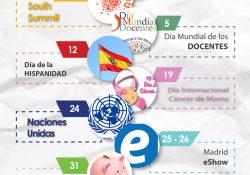 Infografía Octubre España