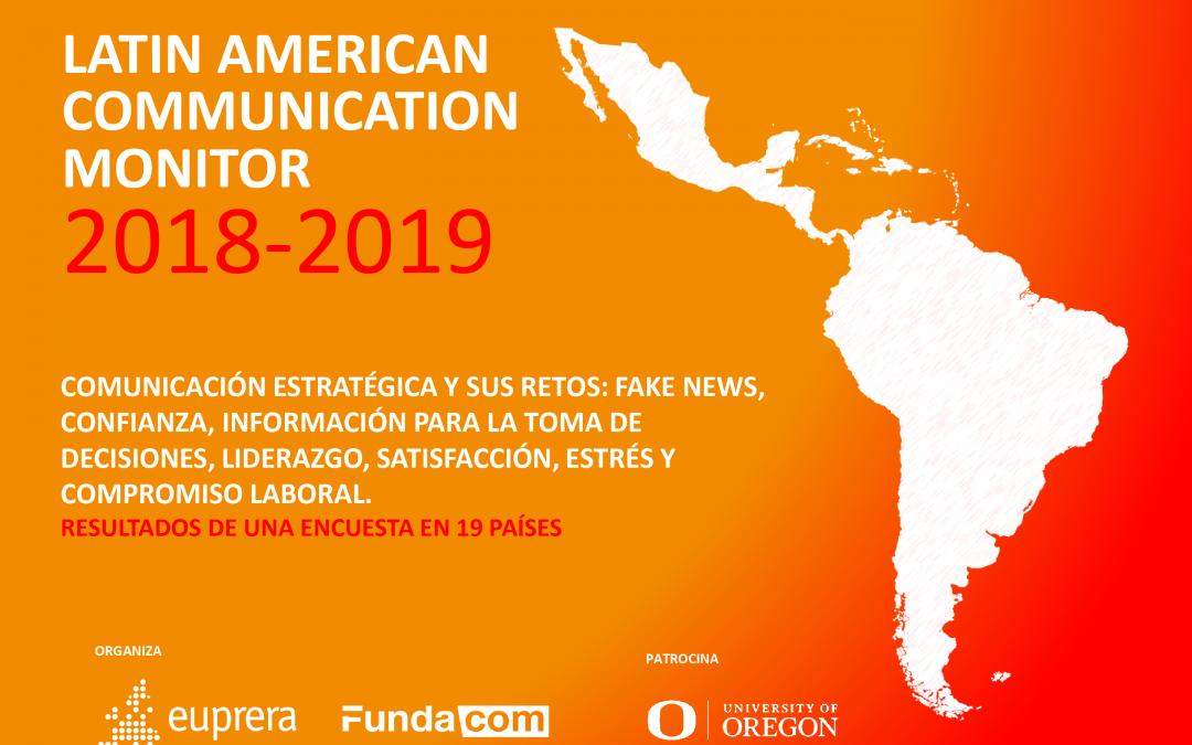 'Fake news' y estrés laboral, algunos de los principales temas del Latin American Communication Monitor