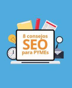 portada ebook 8 consejos seo para pymes