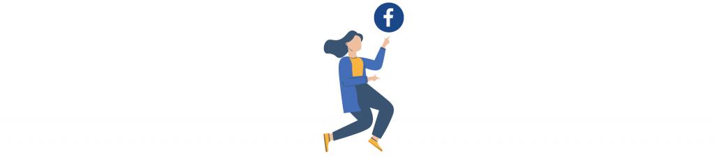 Representación de facebook y para qué usar cada red social