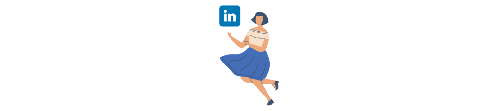 Representación de linkedin y para qué usar cada red social