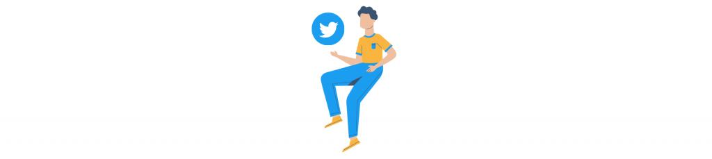 Representación de twitter y para qué usar cada red social