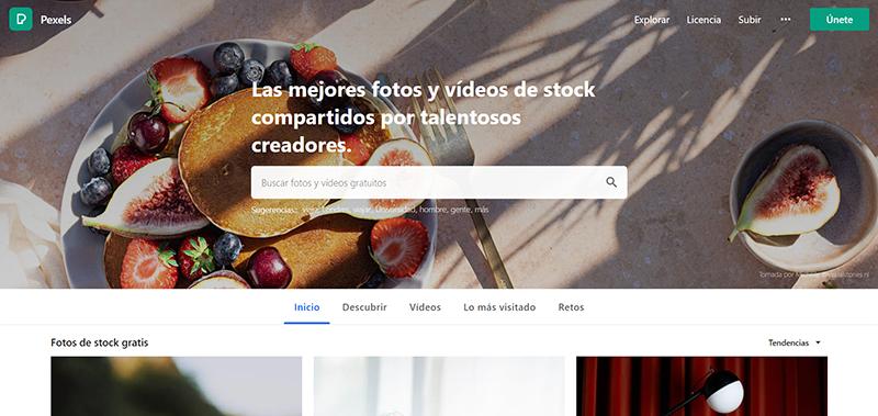Pexels, banco de imágenes gratuitas